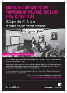 Free public lecture - birth in history